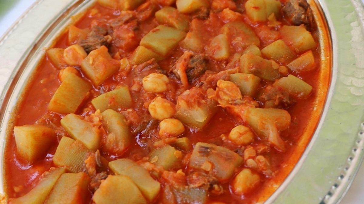 Sulu yemek arayanlara nefis öneri su kabağı yemeği tarifi! Şanlıurfa'nın tescilli lezzeti