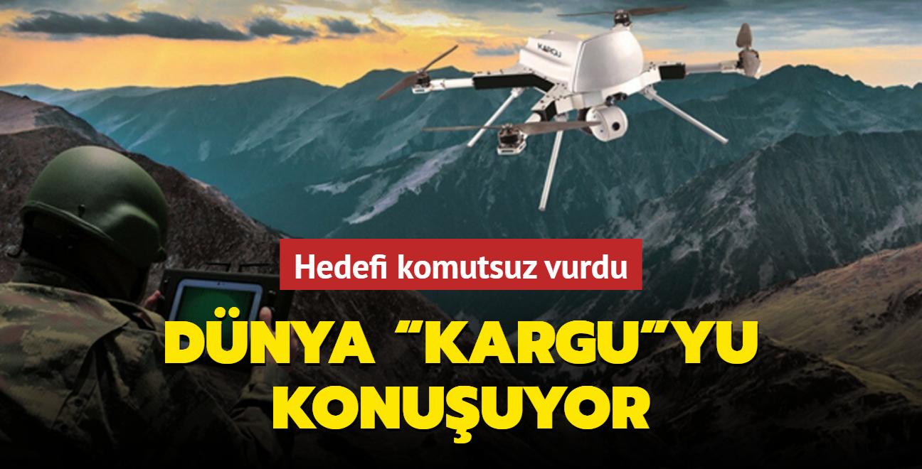 Türk yapımı Kargu dünya basınının gündeminde: Düşman hedefini komut almadan yapay zekasıyla bulup vurdu