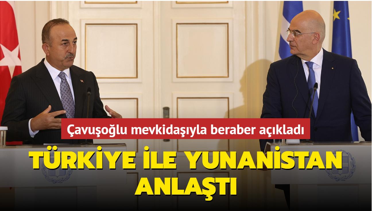Türkiye ile Yunanistan aşı konusunda anlaştı