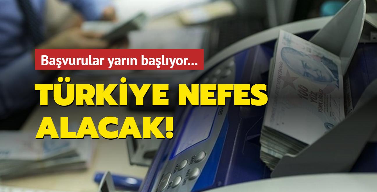 Türkiye nefes alacak: Başvurular yarın başlıyor