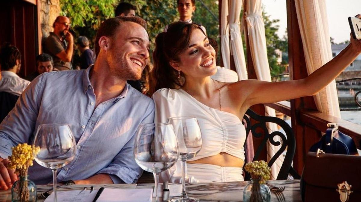 Aşıklar düşman çatlattı... Hande Erçel'den Kerem Bürsin'e sürpriz doğum günü!