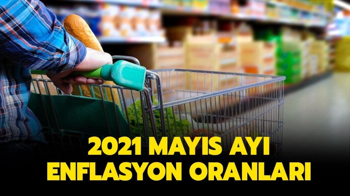 """Enflasyon oranları açıklandı! 2021 Mayıs ayı enflasyon oranı nedir"""""""