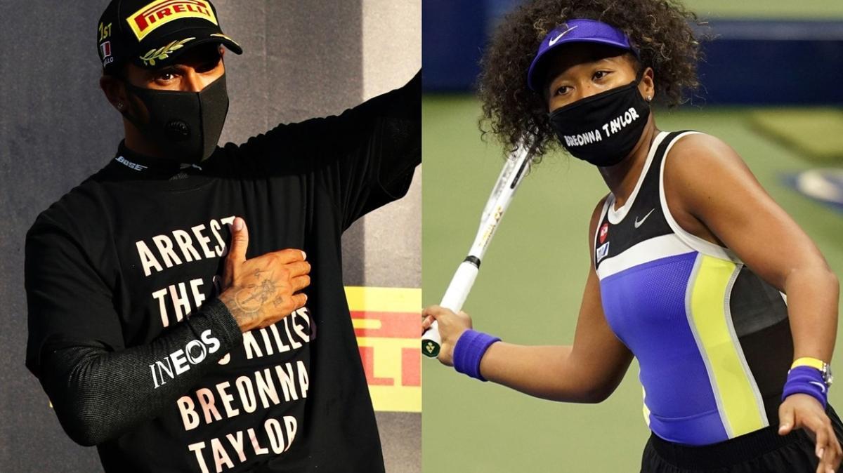 Lewis Hamilton, Naomi Osaka'ya destek verdi