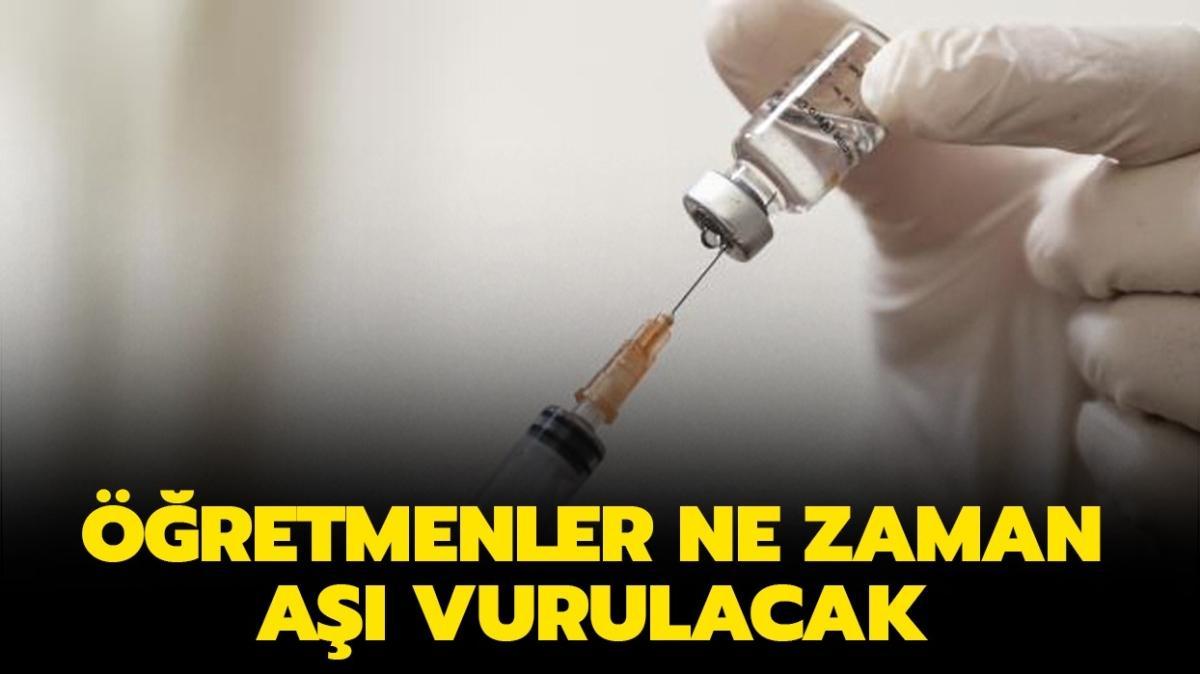 """Öğretmenler, akademisyenler ne zaman aşı vurulacak"""" Öğretmenlere aşı zorunlu mu olacak"""" Bakan Koca açıkladı!"""
