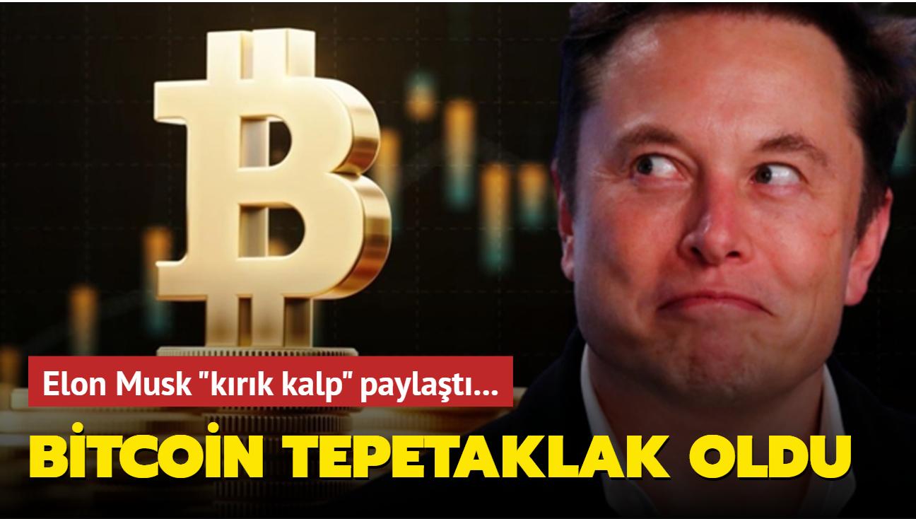 Elon Musk tweet attı, Bitcoin tökezledi
