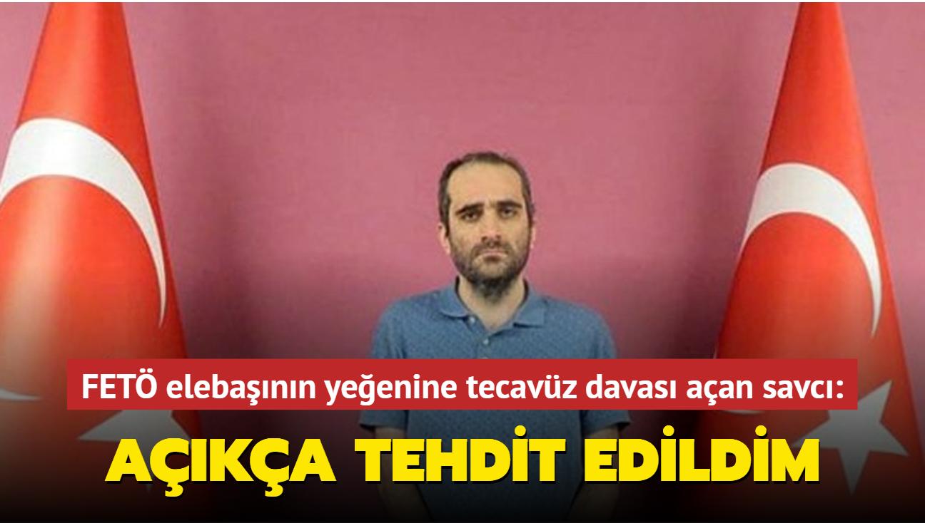 FETÖ elebaşının yeğeni Selahaddin Gülen'e tecavüz davası açan savcı konuştu: Açıkça tehdit edildim