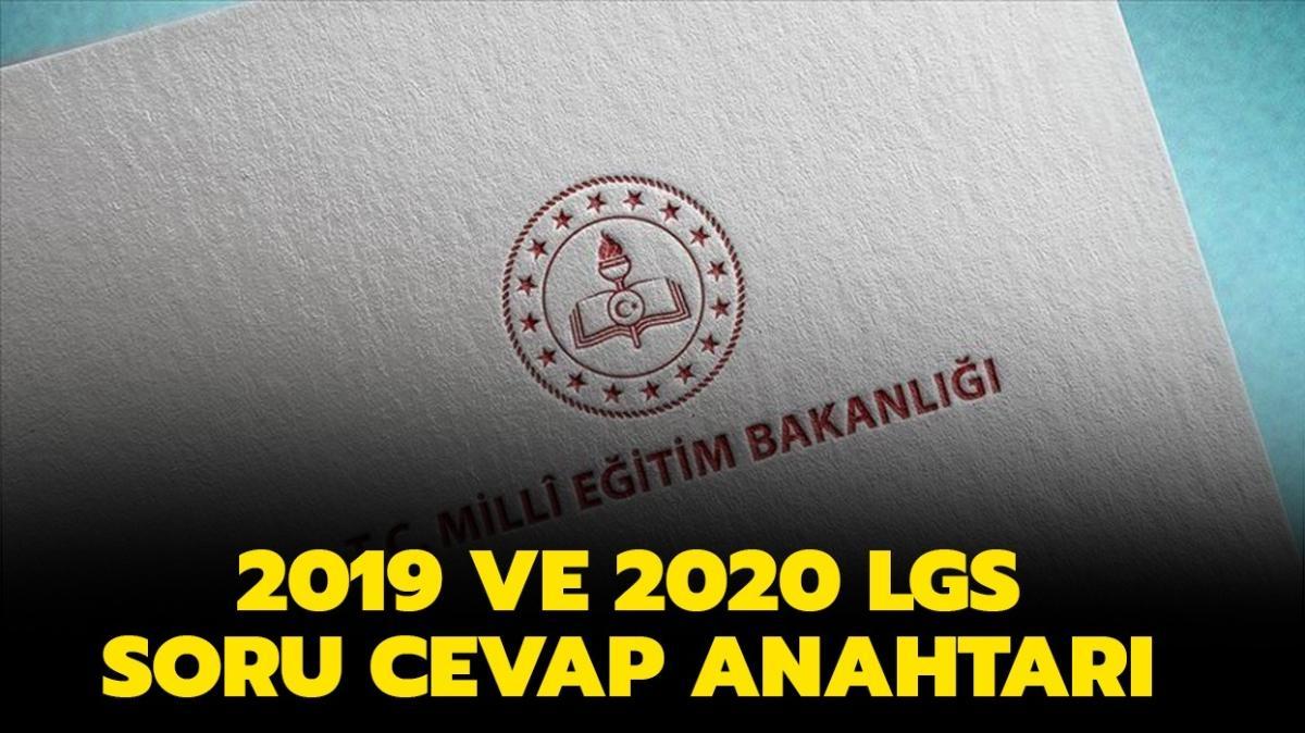 """2019 ve 2020 LGS soru ve cevapları! LGS sözel ve sayılar soruları nasıldı"""""""