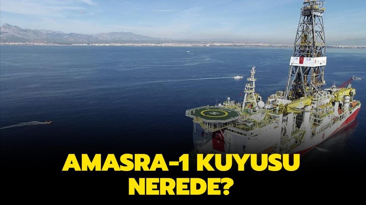 """Amasra-1 kuyusu nerede, hangi şehirde yer alıyor"""" Amasra-1 kuyusu derinliği kaç metredir"""""""