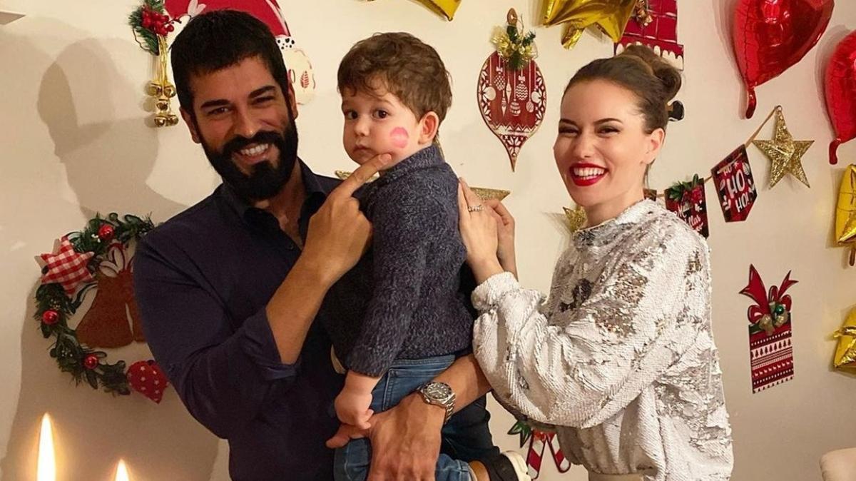 Burak Özçivit'ten Fahriye Evcen'in doğum gününe özel fotoğraflı kutlama: Nice senelere güzel eşim