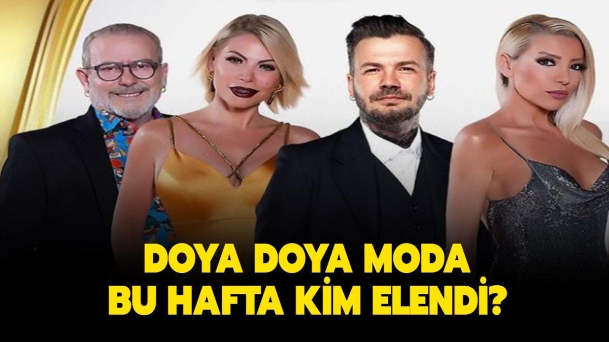 "Doya Doya Moda bu hafta kim birinci oldu"" Doya Doya Moda 4 Haziran kim elendi"""