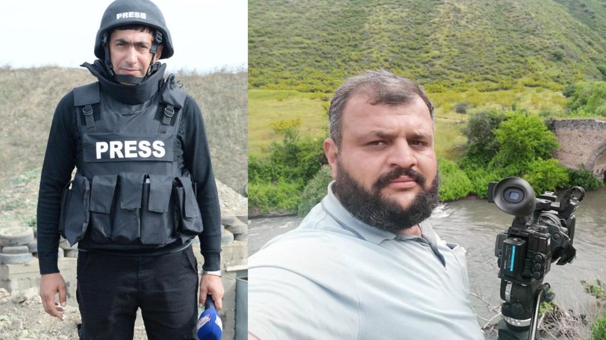 Ermenistan'ın döşediği mayın patladı: 2 Azerbaycanlı gazeteci hayatını kaybetti