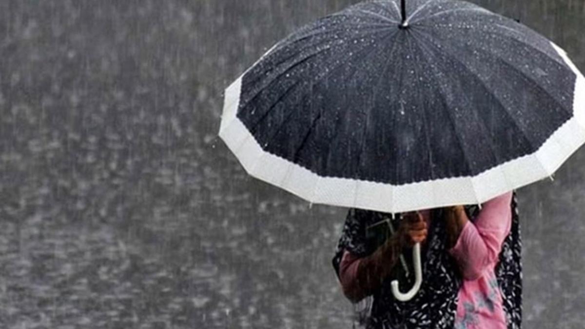 Meteoroloji uyardı: Karadeniz ve Akdeniz'de yağmur var