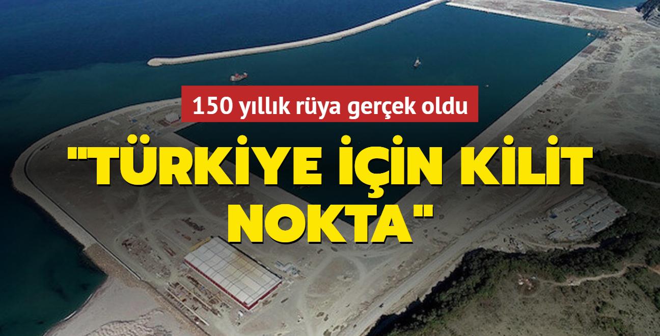 """150 yıllık rüya gerçek olmuştu: """"Türkiye için kilit nokta"""""""