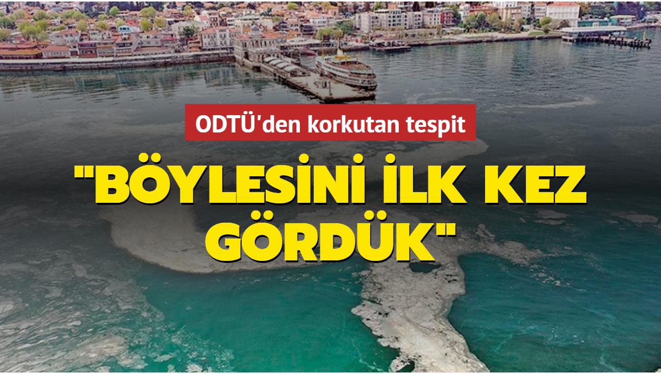 ODTÜ araştırma gemisinden korkutan tespit! 'Marmara'nın altı 'jel' olmuş'