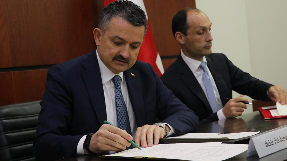 Gürcistan'la karşılıklı veterinerlik anlaşması