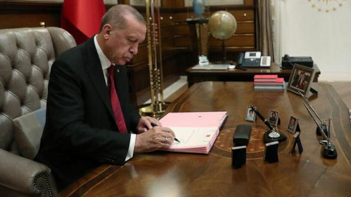 Resmi Gazete'de yayımlandı: Başkan Erdoğan imzaladı