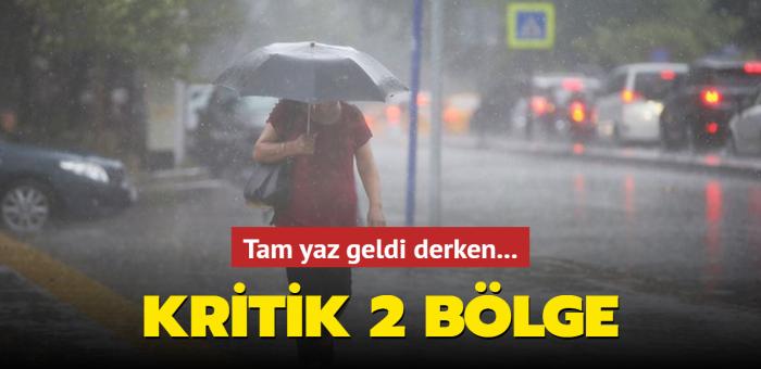 Karadeniz ile Doğu Anadolu'nun kuzeyini yağış ve kuvvetli rüzgar bekliyor
