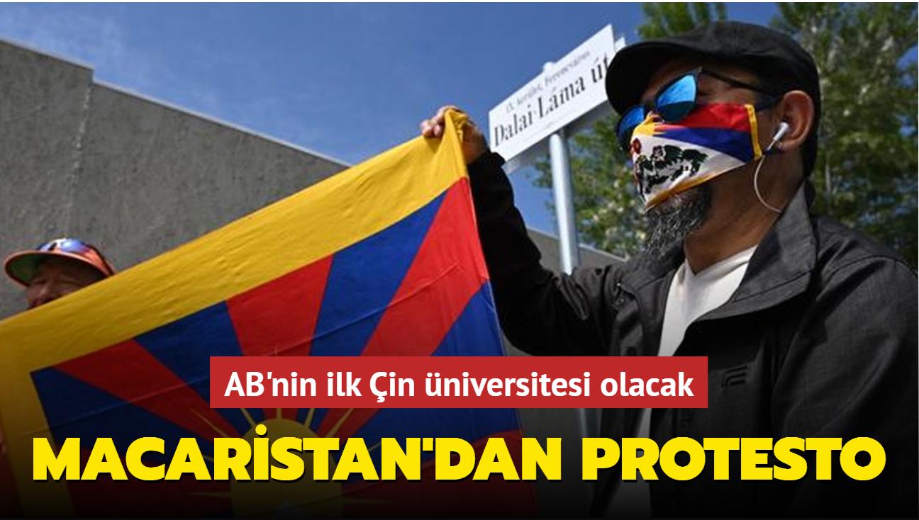 AB'nin ilk Çin üniversitesi olacak... Macaristan'dan protesto