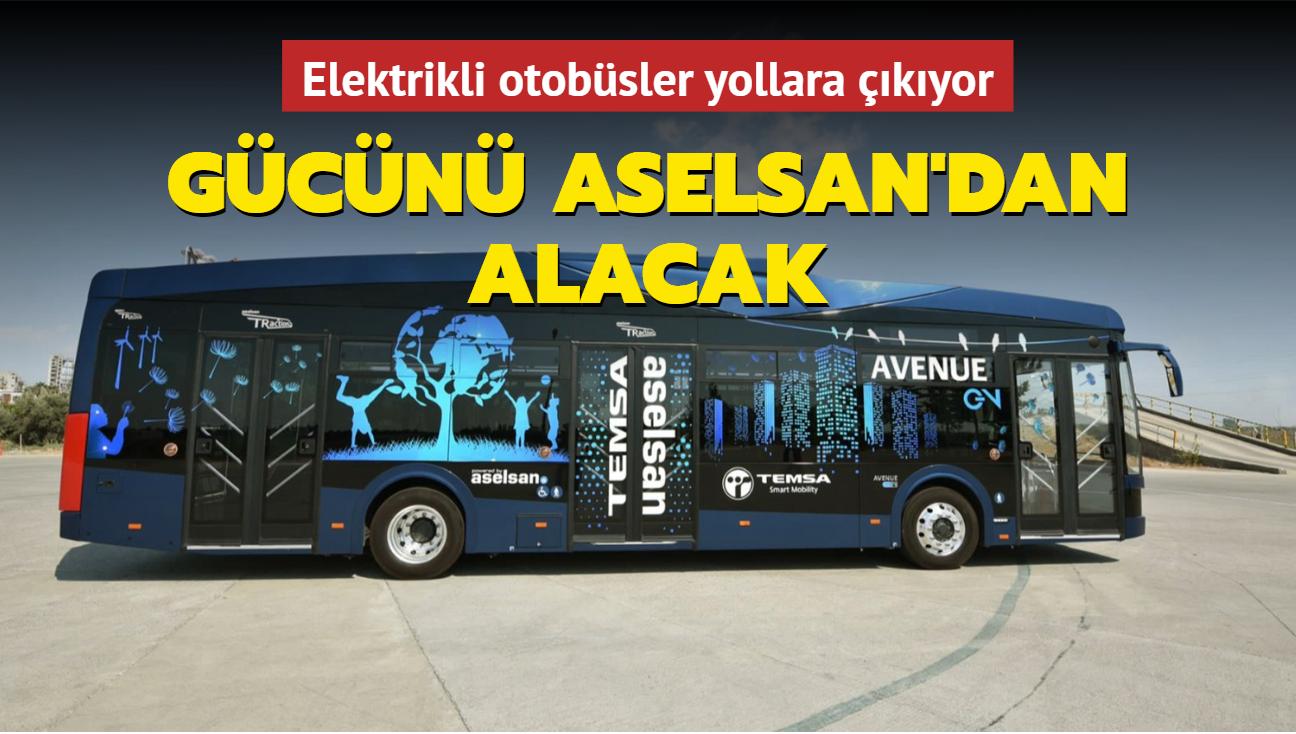 Gücünü ASELSAN'dan alacak: Elektrikli otobüsler yollara çıkıyor