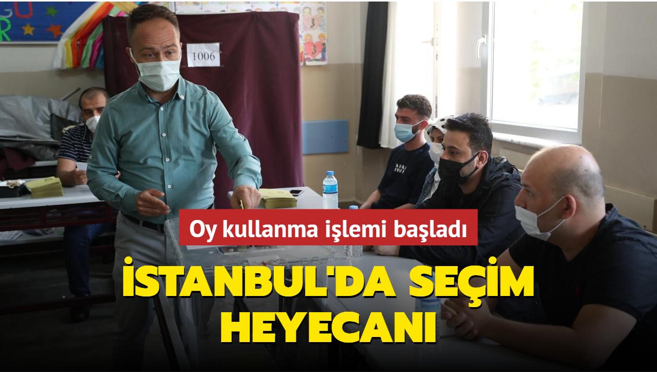 İstanbul'da 14 mahallede seçim heyecanı başladı: 71 bin seçmen oy kullanacak