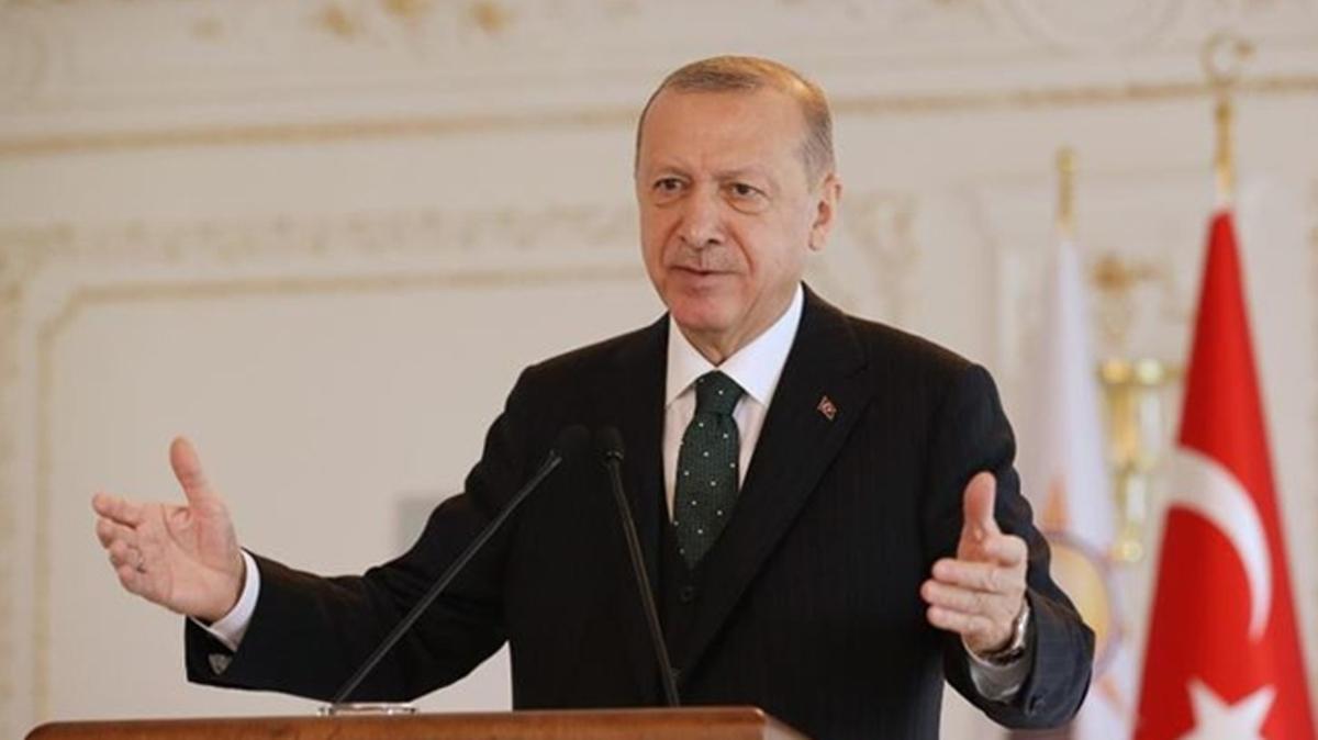 Başkan Erdoğan LGS'ye girecek öğrencilere mesaj