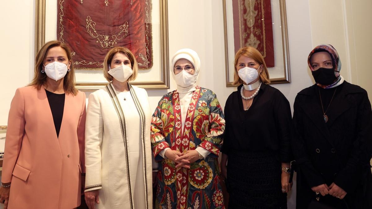 Emine Erdoğan, 'Bohça' ile Olgunlaşma Akademisi'nin açılışına katıldı