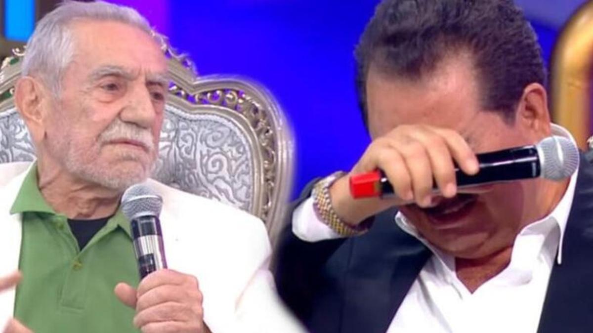 İbo Show'da duygusal anlar: Sen ağlayınca biz de ağlıyoruz