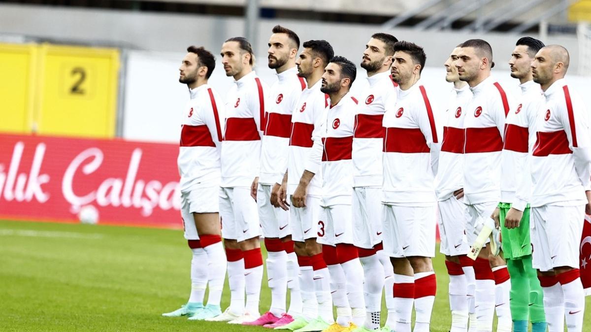 Millilerimizin EURO 2020'de giyeceği forma numaraları belli oldu