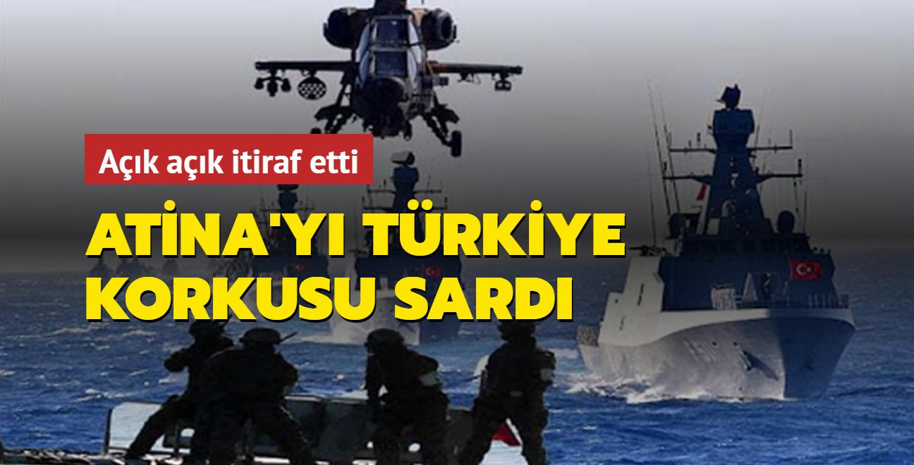 Atina'yı Türkiye korkusu sardı: Akdeniz'deki güç dengesini bozabilecek sistemlere sahip