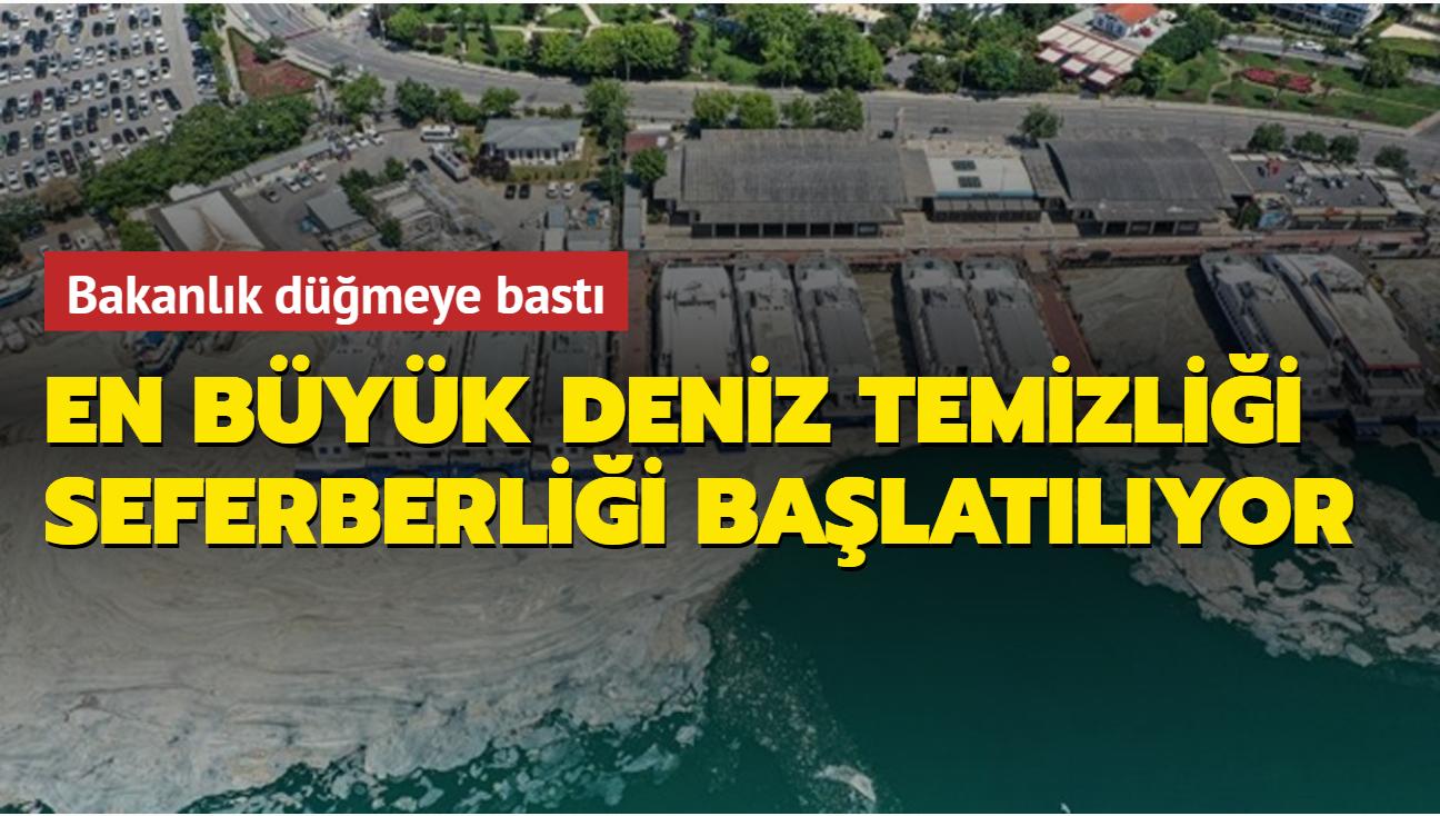 Çevre ve Şehircilik Bakanlığı'ndan genelge: 8 Haziran'da en büyük deniz temizliği seferberliği başlatılıyor
