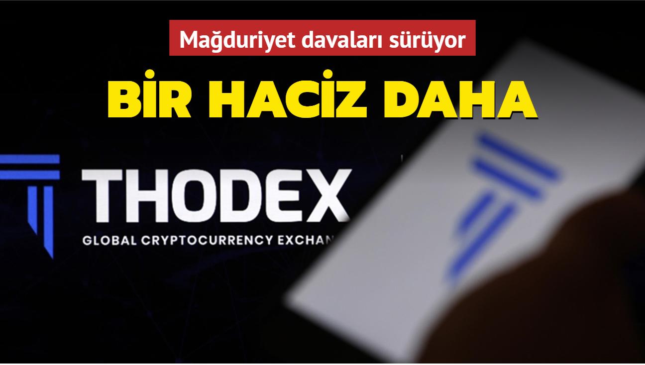Thodex'e 16 milyon değerinde haciz kararı
