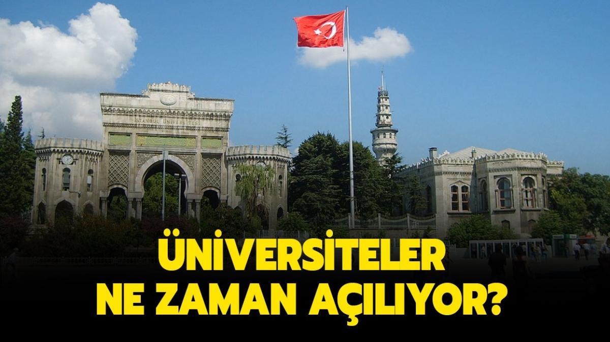 """Üniversitelerde yüz yüze eğitim olacak mı"""" 13 Eylül'de üniversiteler açılıyor mu"""""""