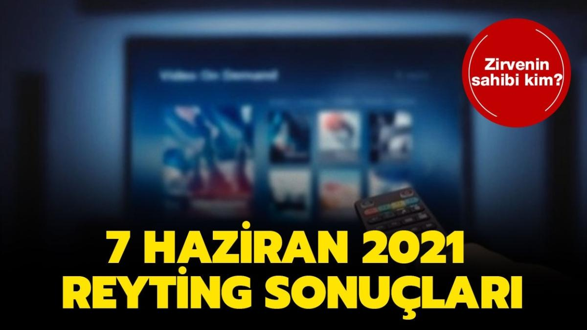7 Haziran 2021 reyting sonuçları açıklandı! Aşkın Tarifi, Çukur, Kağıt Ev reyting sıralaması!