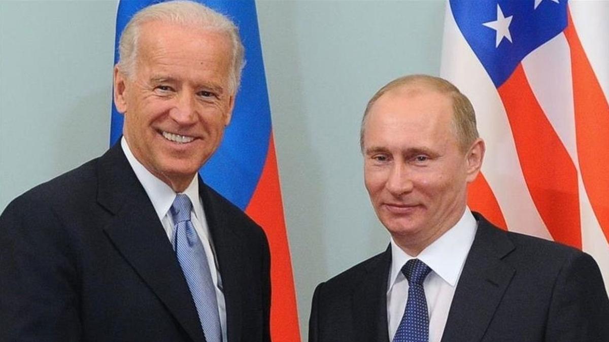 """ABD'li yetkiliden Biden-Putin görüşmesine dair açıklama: """"Rüzgarı arkasına almış olacak"""""""