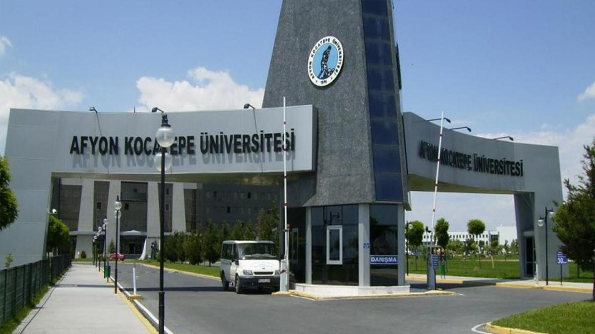 Afyon Kocatepe Üniversitesi personel alımı yapacak!