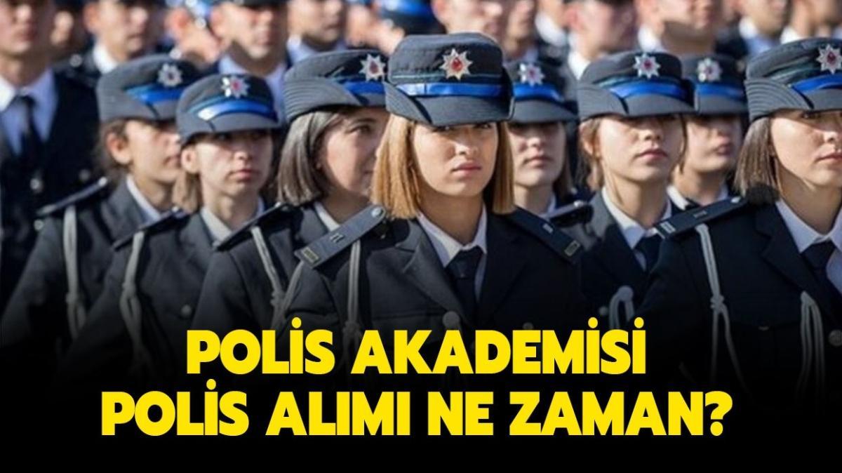 Polis Akademisi alımları bekleniyor