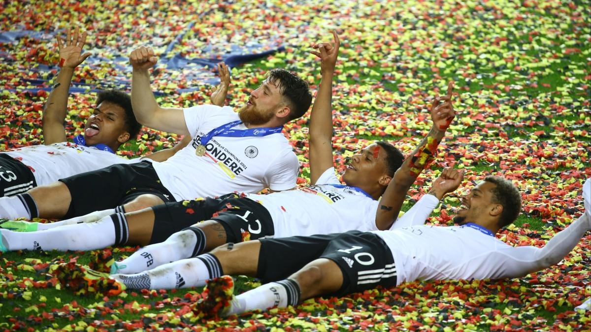 U21'de şampiyon Almanya