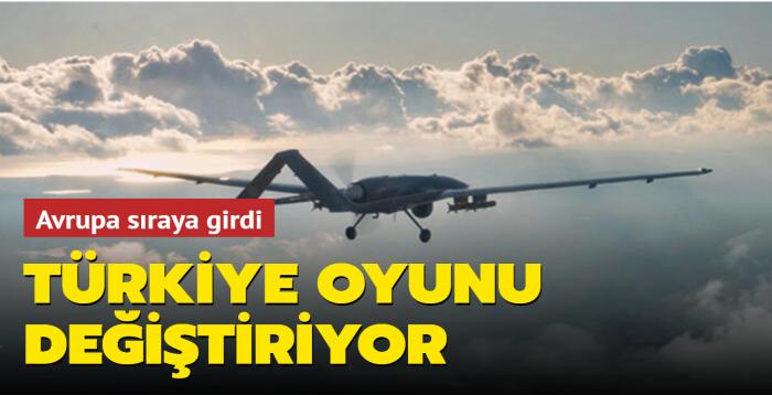 Türkiye oyunu değiştiriyor: Avrupa sıraya girdi