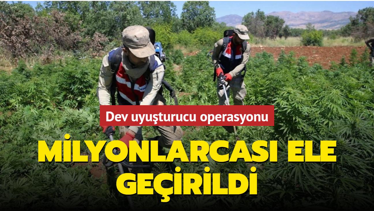 Son dakika haberi: Diyarbakır'da dev uyuşturucu operasyonu