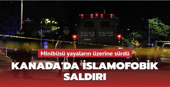 Kanada'da İslamofobik saldırı