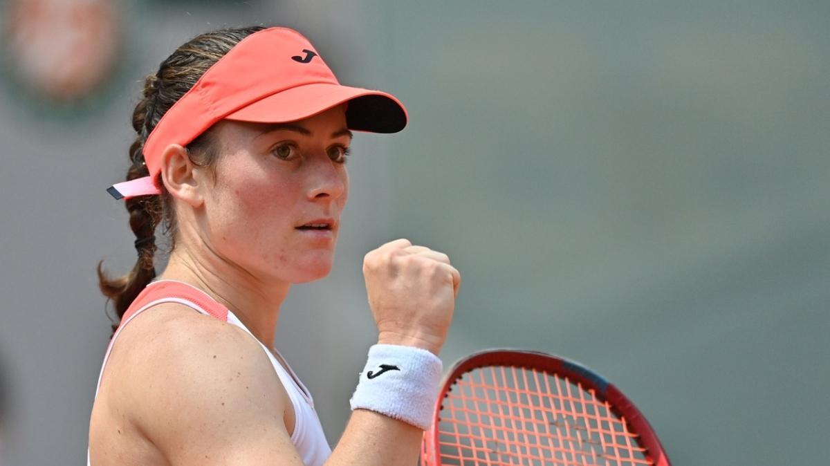 Dünya 85'incisi Tamara Zidansek, Roland Garros'ta yarı finale yükseldi