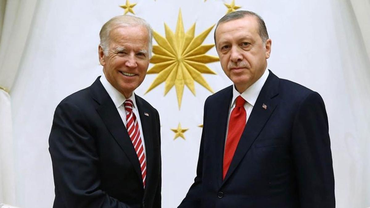 Erdoğan ve Biden her şeyi konuşacak