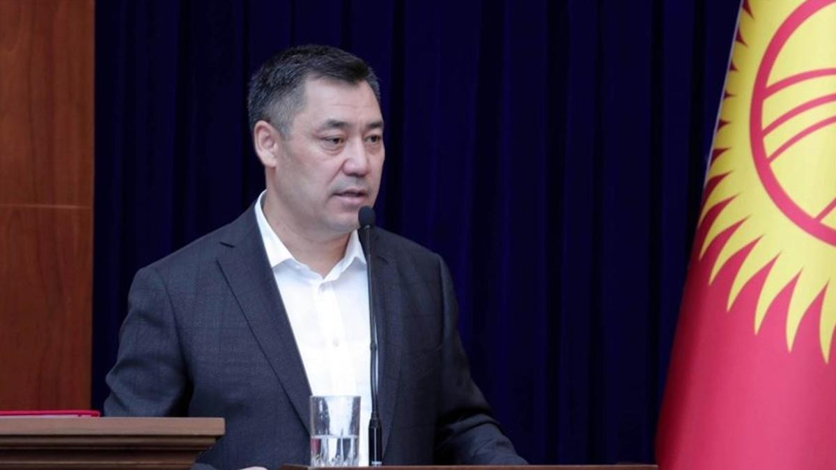 Kırgızistan Cumhurbaşkanı Sadır Caparov, Türkiye'ye geliyor