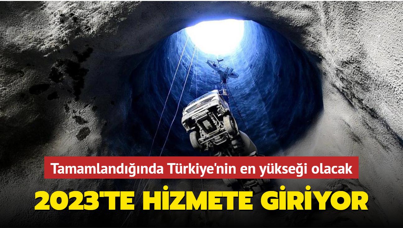 Tamamlandığında Türkiye'nin en yükseği olacak: Ekonomiye 2 milyar katkı sağlayacak