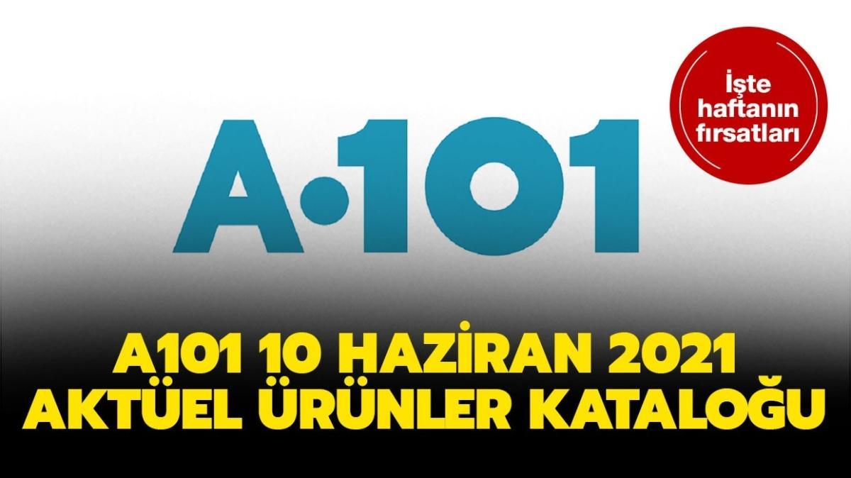 """A101'e bugün neler geliyor""""  A101 10 Haziran 2021 aktüel ürünler kataloğu yayında!"""