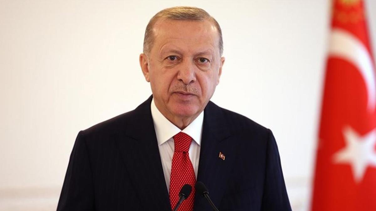 Başkan Erdoğan, şehit Jandarma Astsubay Öztürk'ün ailesine başsağlığı diledi