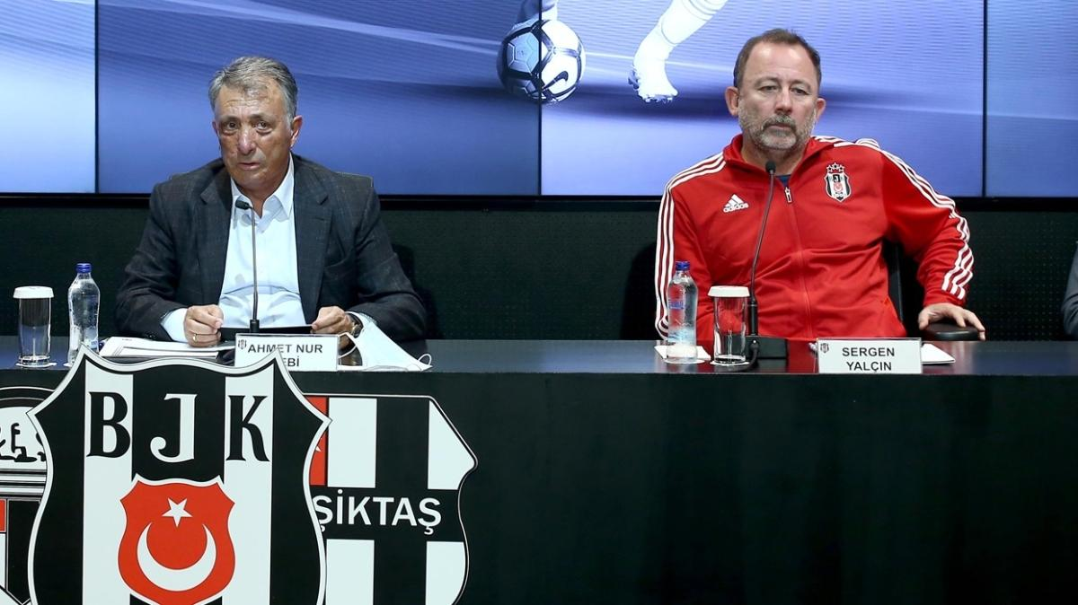 Beşiktaş yönetimiyle Sergen Yalçın arasında kıyasıya pazarlık