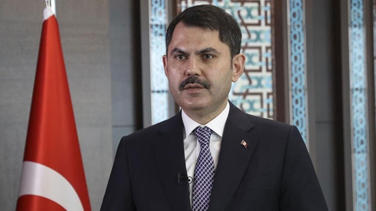 Çevre ve Şehircilik Bakanı Kurum gündeme ilişkin soruları yanıtladı