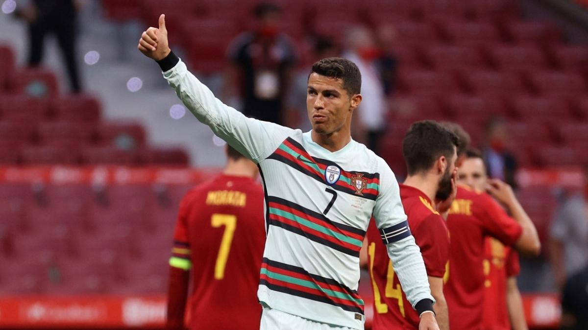 Cristiano Ronaldo, EURO 2020'de birçok rekoru kırmaya hazırlanıyor