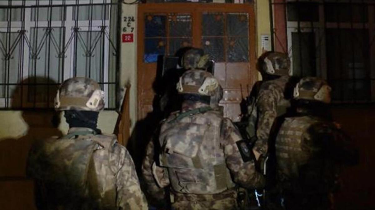 İstanbul'da özel harekat destekli uyuşturucu operasyonu!